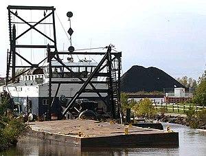 Ontonagon, Michigan - Image: Harbor of Ontonagon, Michigan