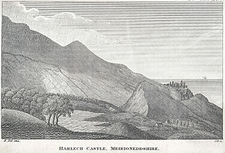 Harlech Castle, Meirioneddshire