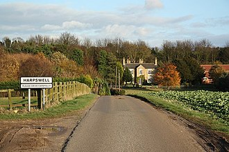 Harpswell, Lincolnshire - Image: Harpswell geograph.org.uk 1585943