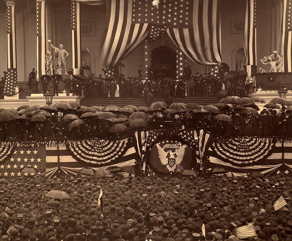 Harrison-inauguration