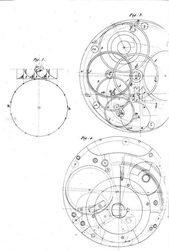 Harrison H4 clock in The principles of Mr Harrison's time-keeper 1767