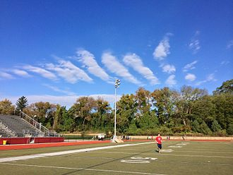 Harriton High School - Harriton's American gridiron football field.