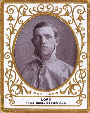 Harry Lord - Image: Harry Lord 1909 Ramly Cigarettes baseball card