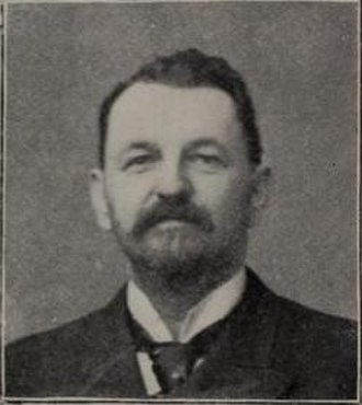 Harry Von der Horst - Von der Horst in the 1899 Spalding guide