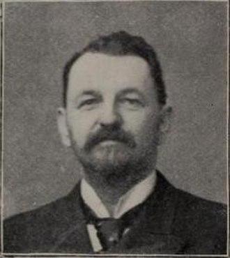 Harry Von der Horst - Von der Horst in the 1899 Spalding guide