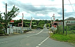 Hartlebury level crossing looking southwest - geograph.org.uk - 883294.jpg