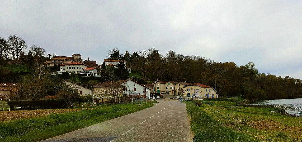 Hastingues, beau petit village landais