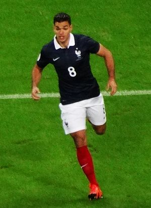 Hatem Ben Arfa - Ben Arfa playing for France in 2015.