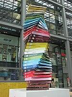Hauptbahnhof - Ritter Sport sculpture.jpg
