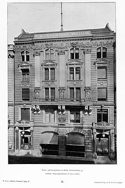 F. W. Borchardt [Public domain], via Wikimedia Commons