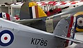 Hawker Tomtit K1786 G-AFTA, Hawker Sea Hurricane Z7015 & Tiger Moth K-2585 G-ANKT (42321928842).jpg