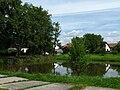 Heřmaň - rybník na návsi.jpg