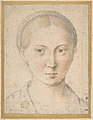 Head of Bearded Man (recto); Head of a Girl (verso) MET DP807864.jpg
