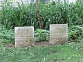 Headstones of Moses Roberts Jr. and Fred A. Roberts.jpg
