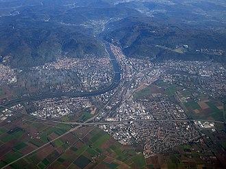 Heidelberg - Heidelberg with suburbs