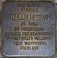 Hellenthal, Im Kirschseiffen 27 Stolperstein Wilhelm Hermann.jpg