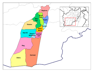 Nawa-I-Barakzayi District District in Helmand Province, Afghanistan
