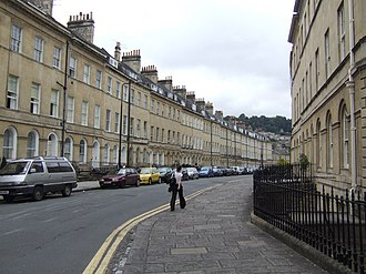 Grade I listed buildings in Bath and North East Somerset - Image: Henrietta Street Bath