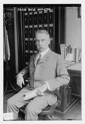 Adjutant General of New York - Image: Henry De Witt Hamilton in 1917