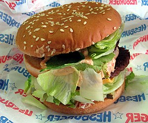 Hesburger - Hesburger hamburger