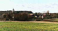 Heuckewalde (Gutenborn), view to the village.jpg