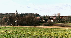 Heuckewalde (Gutenborn), view to the village.jpg