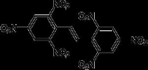 Hexanitrostilbene - Image: Hexanitrostilbene