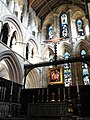 Hexham Abbey - altar and east window - geograph.org.uk - 1583710.jpg