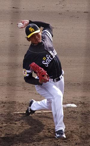 Hideki Okajima - Okajima with the Fukuoka SoftBank Hawks