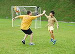 High-five during soccer game DVIDS169794.jpg