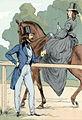 High-life in the Bois de Boulogne, L'allée des Cavaliers, 1842.jpg