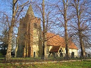 High Laver - Image: High Laver Church 20 dec 2006