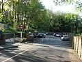 Highgate tube station, Car park and entrance - geograph.org.uk - 1296359.jpg