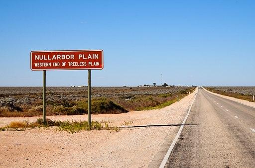 Highway sign, Nullarbor, 2017 (02)
