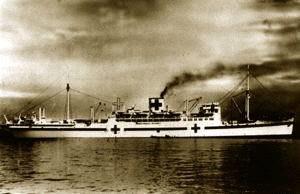 Hikawa Maru - Hikawa Maru as a hospital ship, 1941–45
