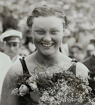 Hilde Schrader - Hilde Schrader at the 1928 Olympics
