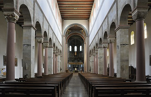 Hildesheim St Godehard innen