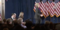Hillary walking on stage to deliver her concession speech 06.png