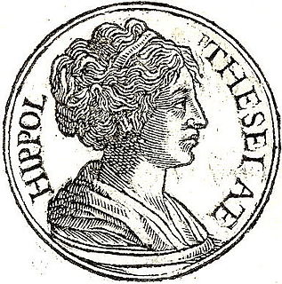 Hippolyta queen of the Amazons in Greek mythology
