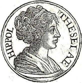 "Hippolyta - Hippolyta from ""Promptuarii Iconum Insigniorum"""