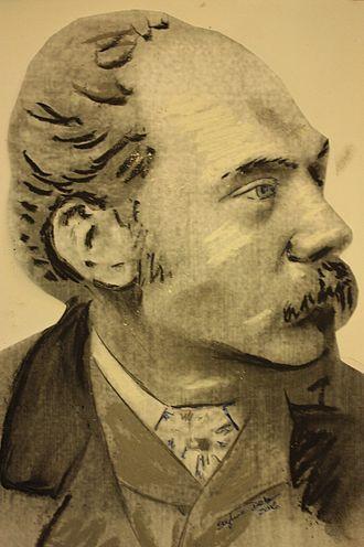 Hippolyte Blanc - Hippolyte Blanc c.1900