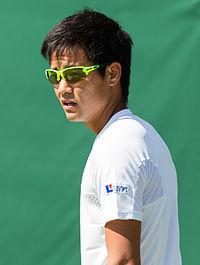 Hiroki Moriya 13, 2015 Wimbledon Qualifying - Diliff.jpg
