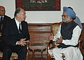 His Highness Aga Khan meeting with the Prime Minister, Dr. Manmohan Singh, in New Delhi on May 12, 2008.jpg