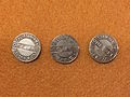 Historic cable car tokens from the San Francisco Cable car museum.jpg