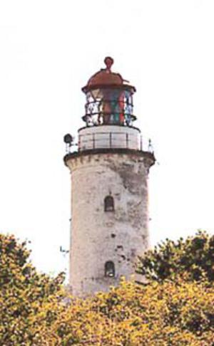 Hjelm (island) - Hjelm Lighthouse
