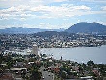 Hobart City Tourist Map