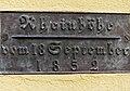 Hochwasser in 4310 Rheinfelden, Aargau. 18. September 1852, Standort, Fröschweid 1.jpg