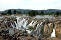 Hogenakkal Falls a long view from top.jpg