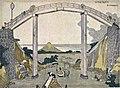 Hokusai Mt.Fuji from high Bridge(たかはしのふじ).jpg