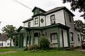 Holloway Street Historic District - White wooden house with green trim - Durham, North Carolina.jpg